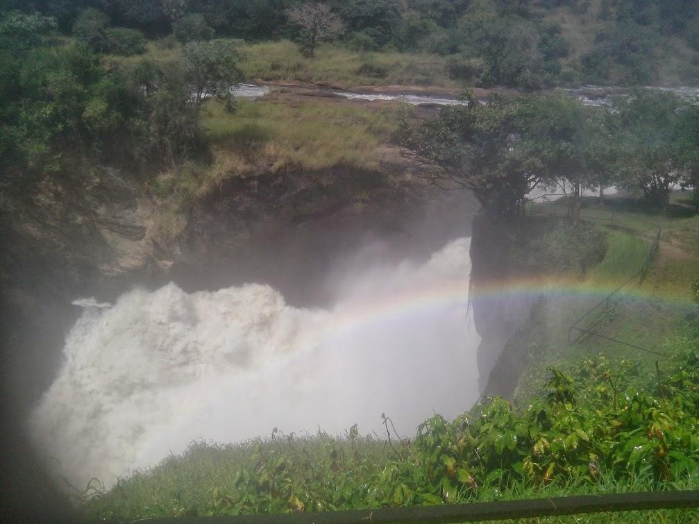 UGANDA'S WATER FALLS