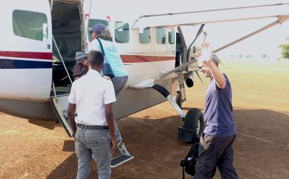 Uganda charter flight tour