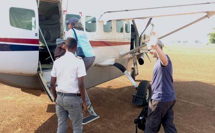 Uganda charter flight tour