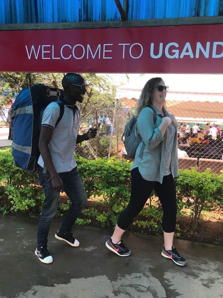 Solo traveler in Uganda